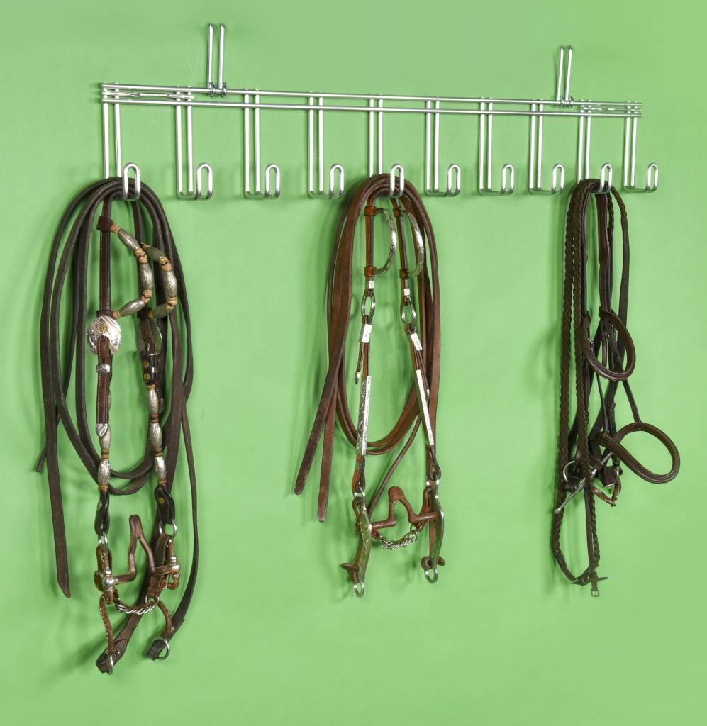 Royal Wire Equine Zaumzeughalter mit 10 Haken