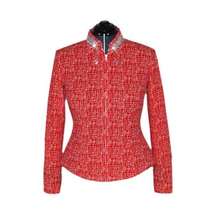 Lisa Nelle Cherry Chic Showshirt size S