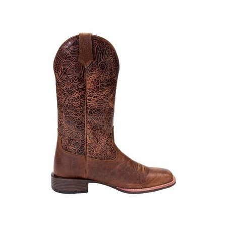 Noble outfitters Dameslaars All Around square toe flora