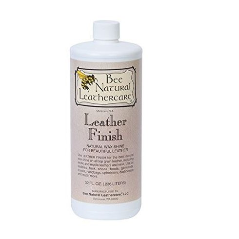 Bee natural Finition cuir cire d'abeille