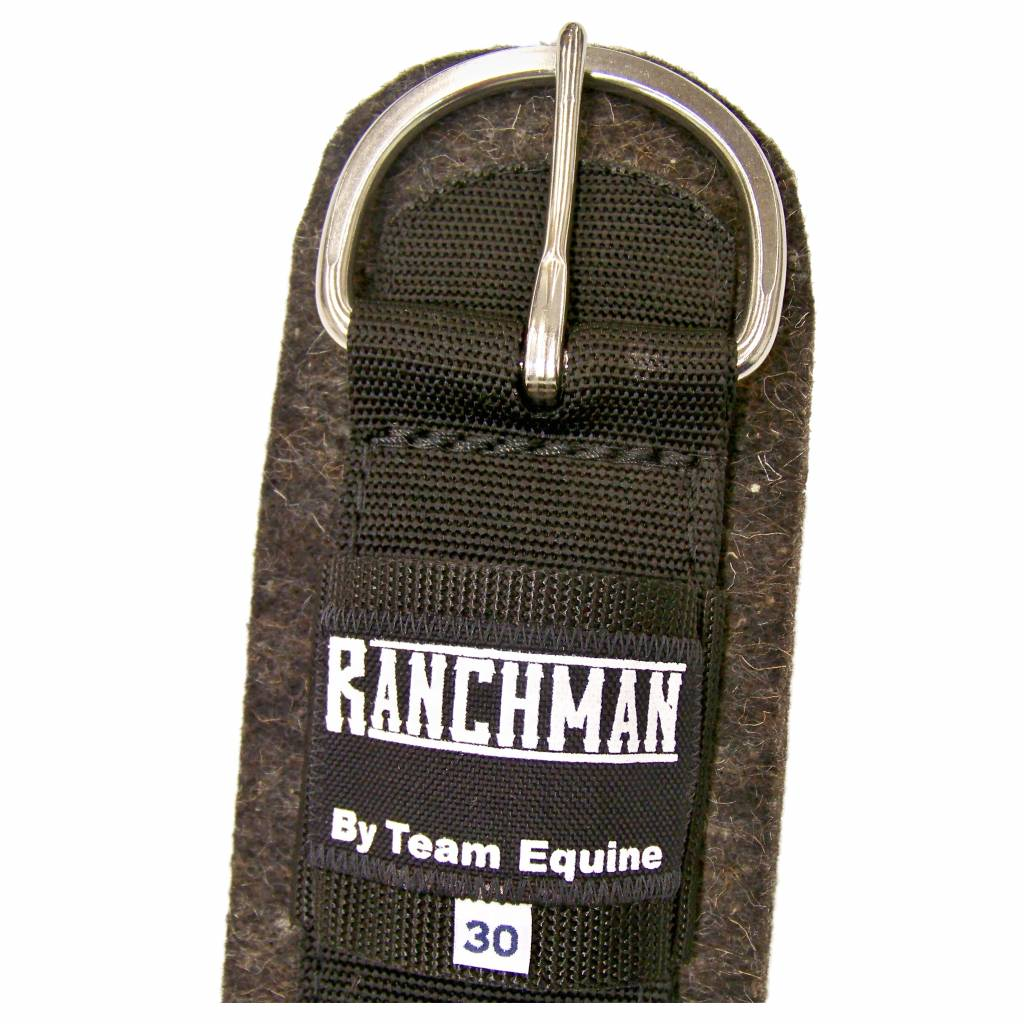 Team Equine Circonférence de feutre de laine de Ranchman