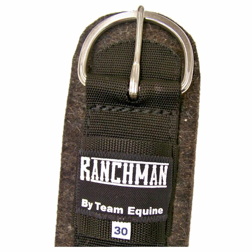 Team Equine Ranchman Wollfilzgurt