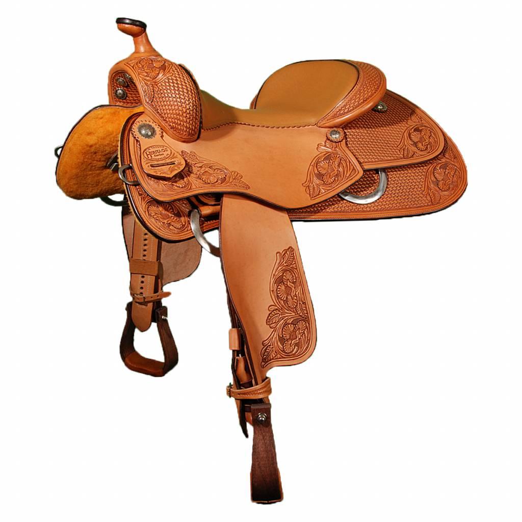"Jim Taylor Custom saddle Statera AH 16 ""Reiner"