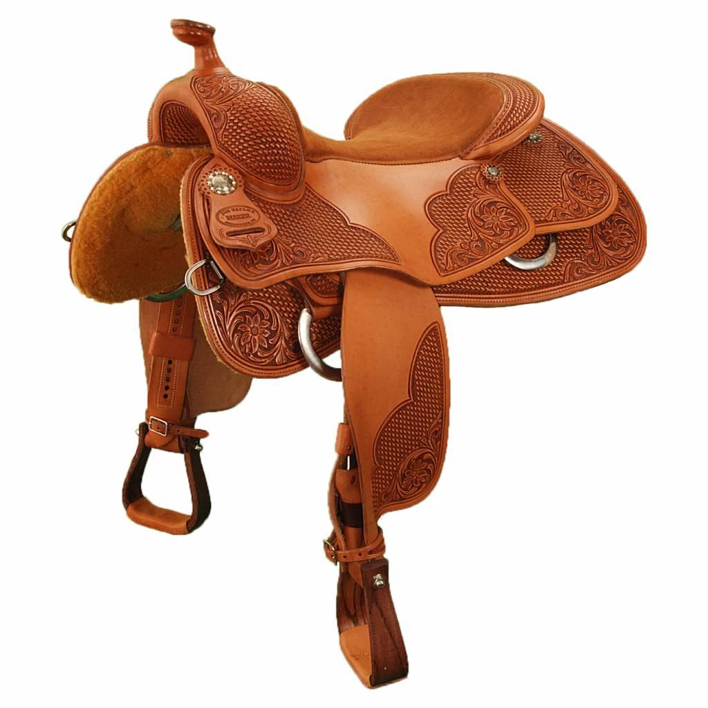"""Jim Taylor Custom saddle Summit AH 16 """"heritage serie"""