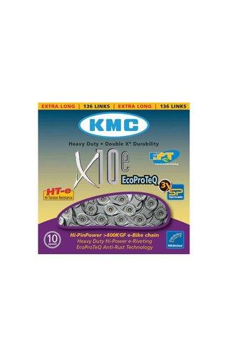KMC KMC E-BIKE SERIES X10 EPT CHAIN 136 LINKS