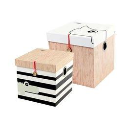 hoorens Square Box set 2 pcs., large