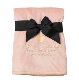 Elodie Details Pearl Velvet deken Powder Pink