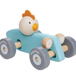 plantoys PlanLifestyle - Chicken Racing Car