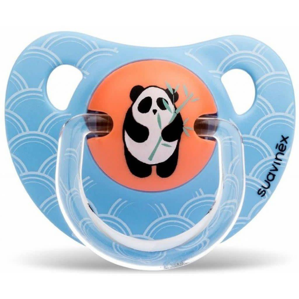 Suavinex Suavinex Speen Panda Silicone 6-18M