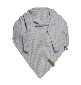 Knit Factory Coco Shawl Light Grey