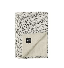 Mies & Co Soft teddy deken big cozy dots