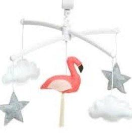 Pouce et Lina Mobiel Pouce et Lina - roze flamingo - Belle & het beest