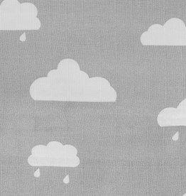 Jollein Jollein Doeken Clouds Grey