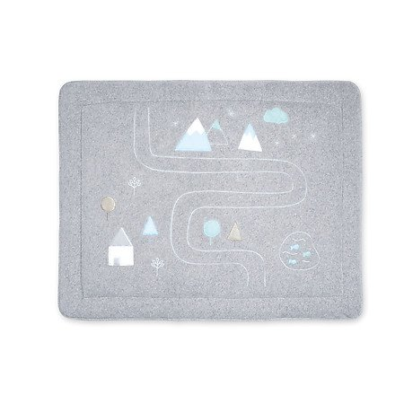 Bemini Park tapijt   terry² 75*95 VROOM 95 grey mixed