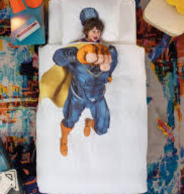 Snurk Dekbedovertrek Snurk Superhero Blue 140x200/220cm