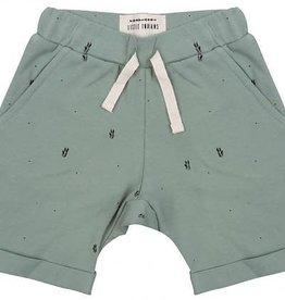 Little Indians Palmleaves shorts Soft Green