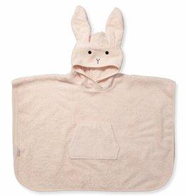 Liewood Poncho Rabbit Roos 2/4Y