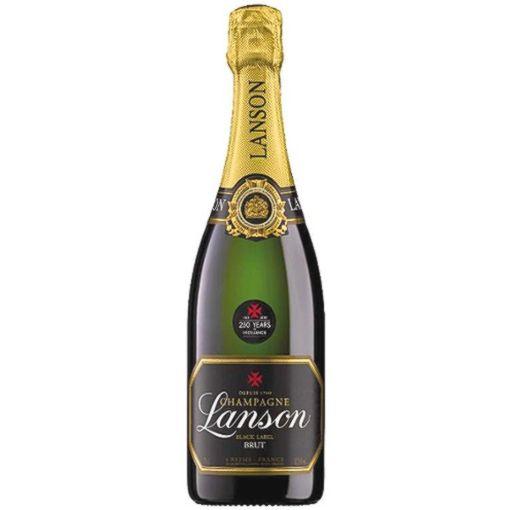 Champagner & Secco Glitzer Lanson Black Label Brut (0,75l)