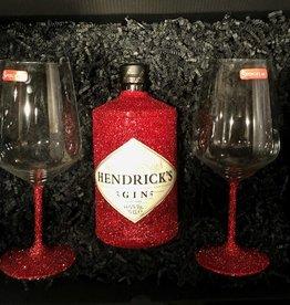 Box-Sets Glitzer Geschenkset Hendrick's Gin