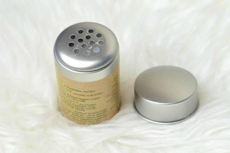 Review No Sweat deodorant