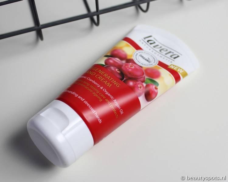 Review Lavera Hand Cream met Cranberry en Argan Olie