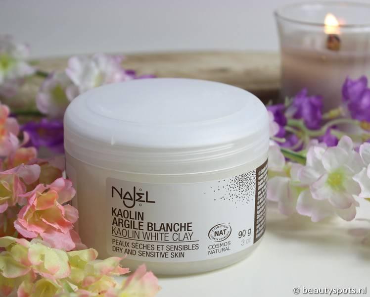 Review Najel Witte Klei gezichts- en haarmasker