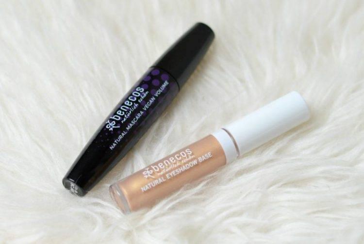 Review Benecos mascara en eyeshadow base
