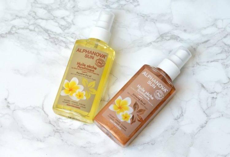 Review: Alphanova sun dry oil | Glittering & Paradise
