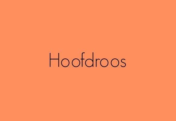 Hoofdroos