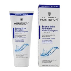 Montbrun eau Thermale Rich Moisturizing Balm Body 200ml