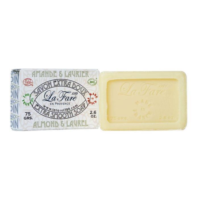 La Fare 1789 Extra Smooth Soap Almond Laurel 75g
