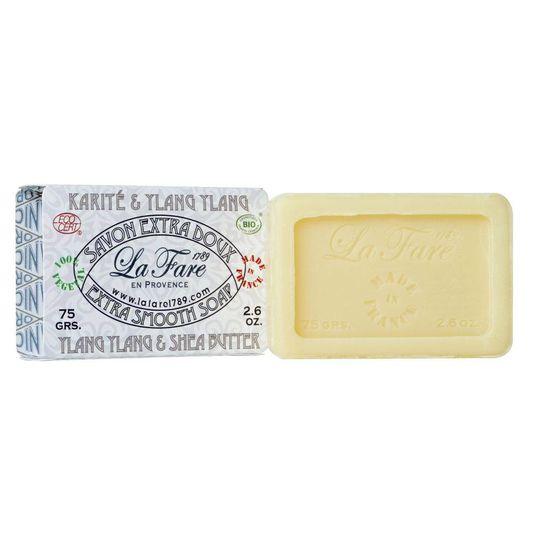 La Fare 1789 Extra Smooth Soap Sheabutter Ylang Ylang 75g