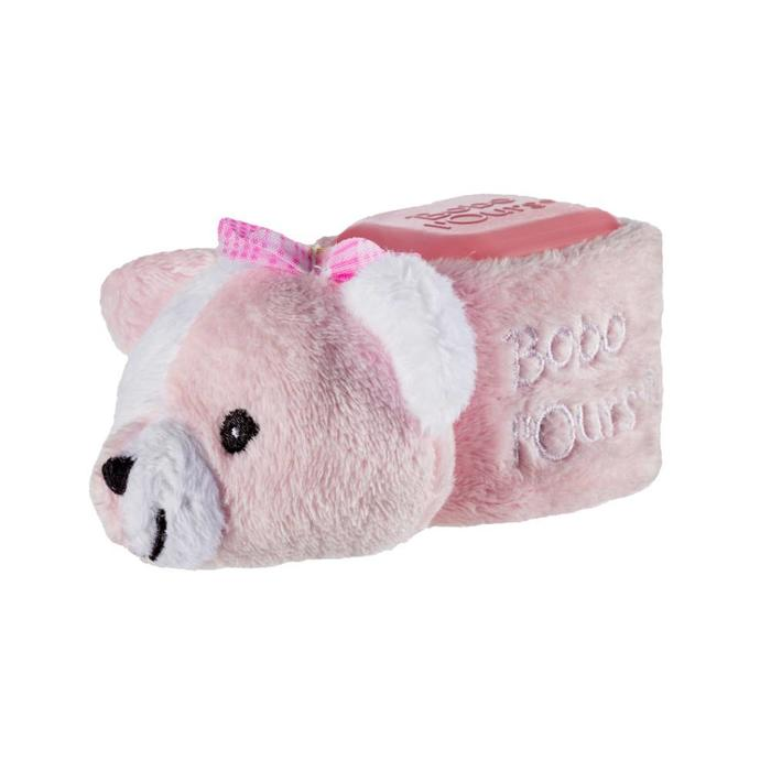 ALPHANOVA Bebe BOBO Pink Bear - cooling bear
