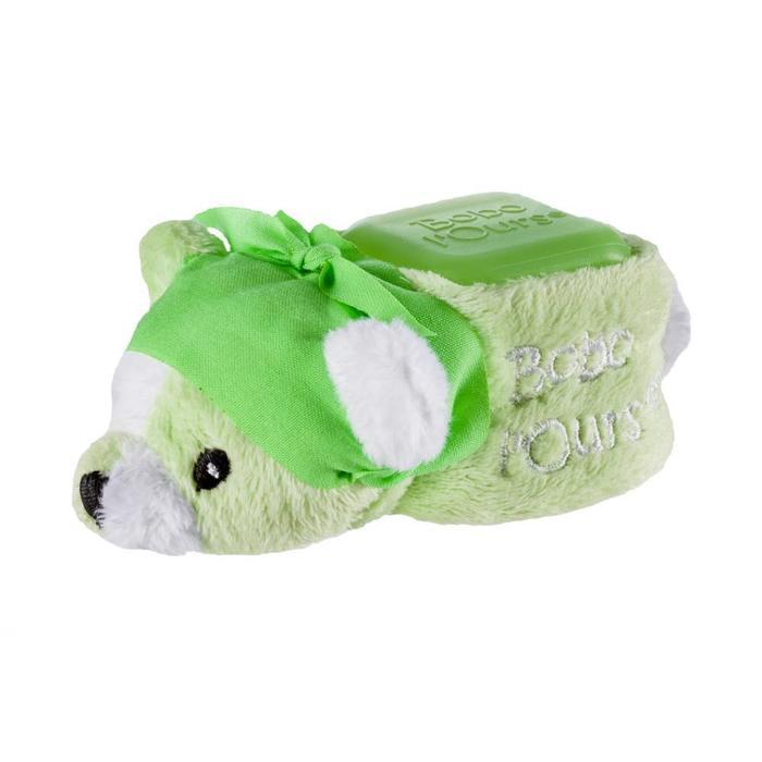 ALPHANOVA Bebe BOBO Green Bear - cooling bear