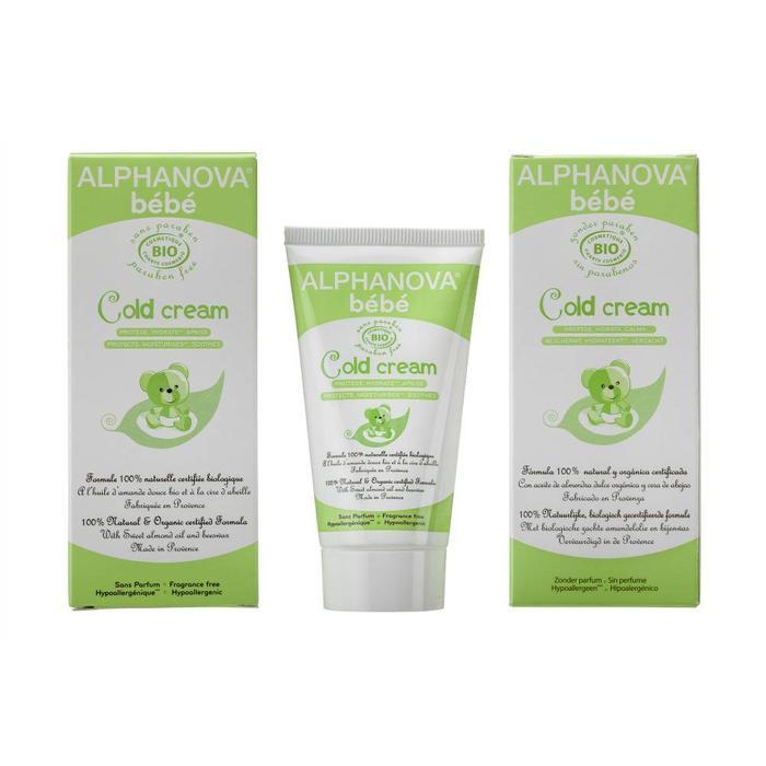 ALPHANOVA Bebe Organic Cold Cream 50g