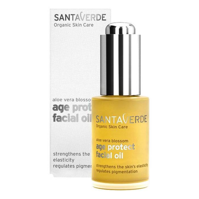 Santaverde Aloe Vera Age Protect Facial Oil 30ml