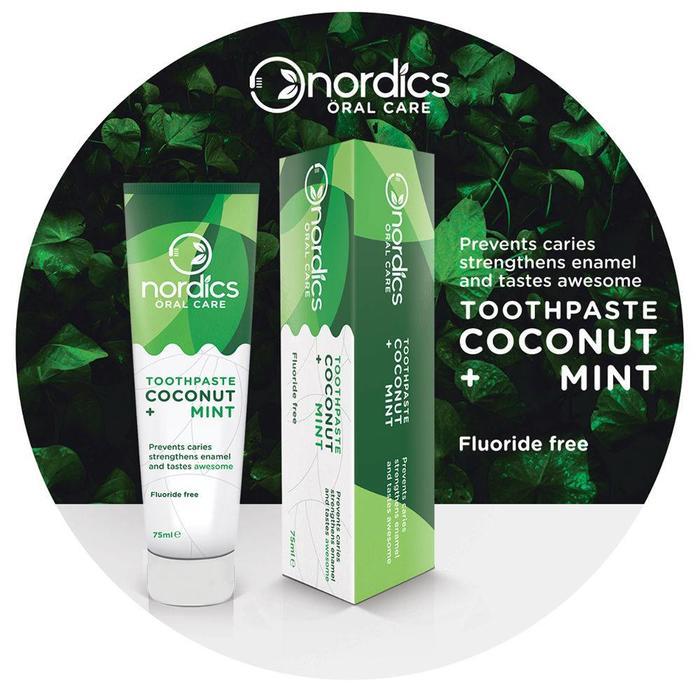 Nordics Toothpaste Coconut Mint 75ml