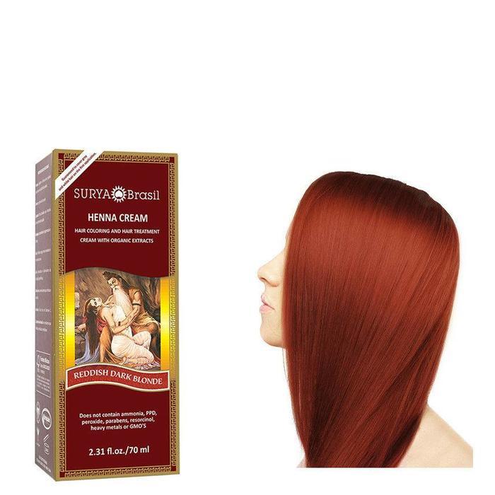 Surya Brasil Henna Haarverf Cream Reddish Dark Blond  70ml