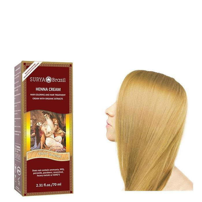Surya Brasil Henna Haarverf Cream Light Blonde 70ml