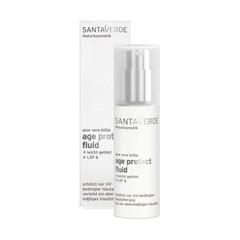 Santaverde Aloe Vera Age Protect Fluid, tinted en SPF 6 - 30ml