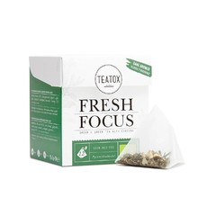 Teatox Fresh Focus Tea Bags Bio 12x2g