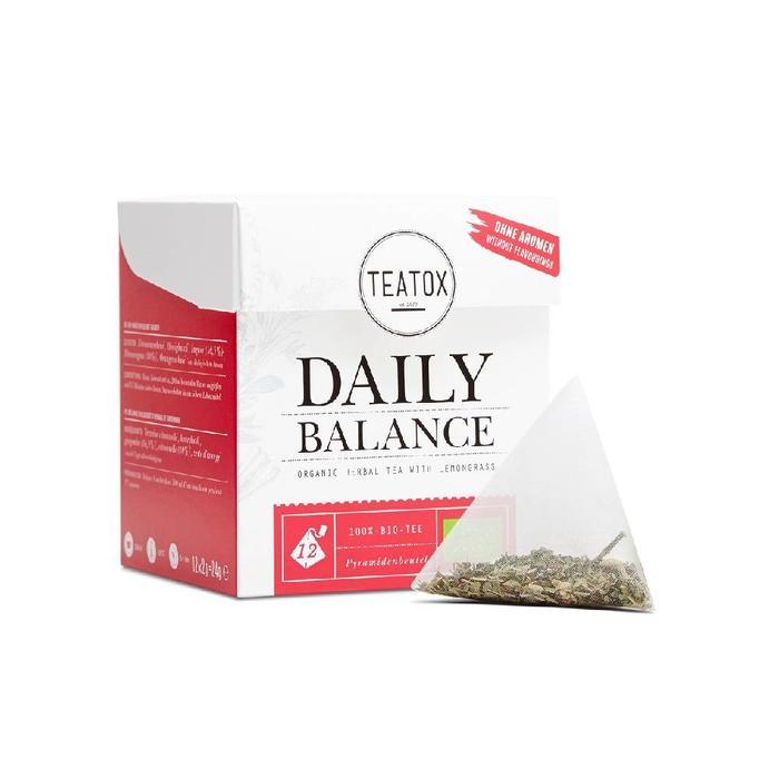Teatox Daily Balance Tea Bags Bio 12x2g