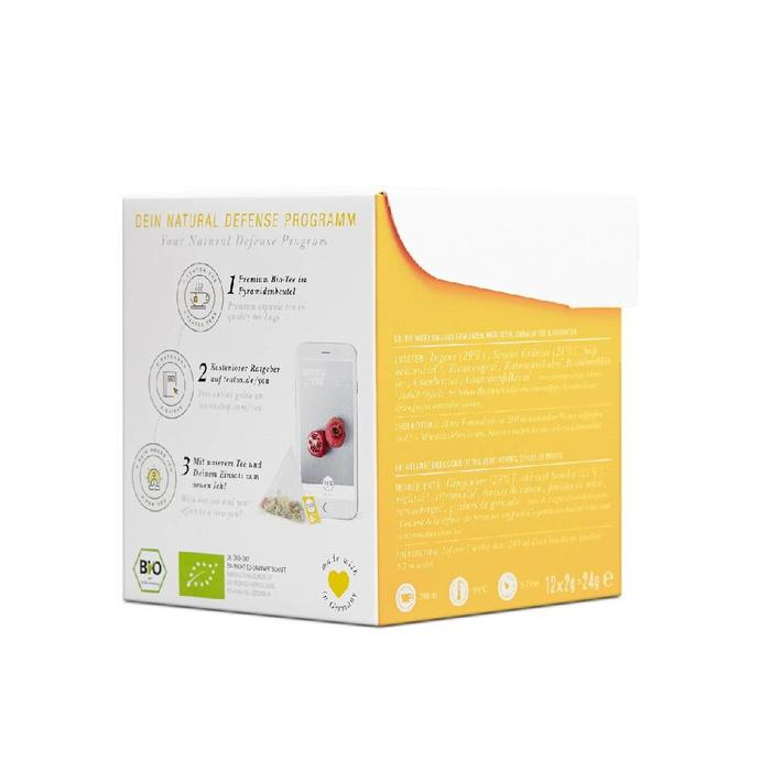 Teatox Natural Defense Tea Bags  Bio 12x2g