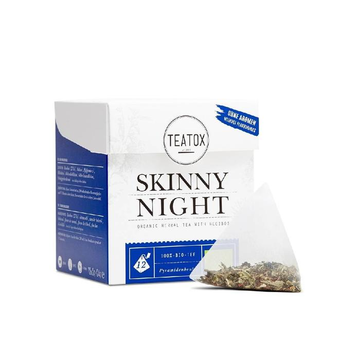 Teatox Skinny Night Tea Bags Bio 12x2g