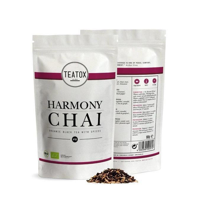 Teatox Harmony Chai Bio 90g REFILL