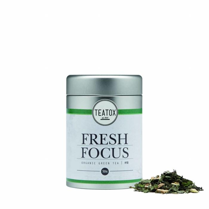 Teatox Fresh Focus Bio Green Tea Gingko 70g