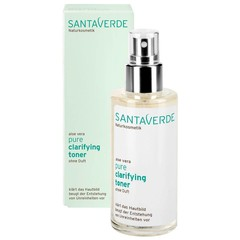 Santaverde Pure Clarifying Toner Fragrance Free 100ml