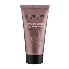 Benecos Light Fluid Natural Foundation 30ml Mocca