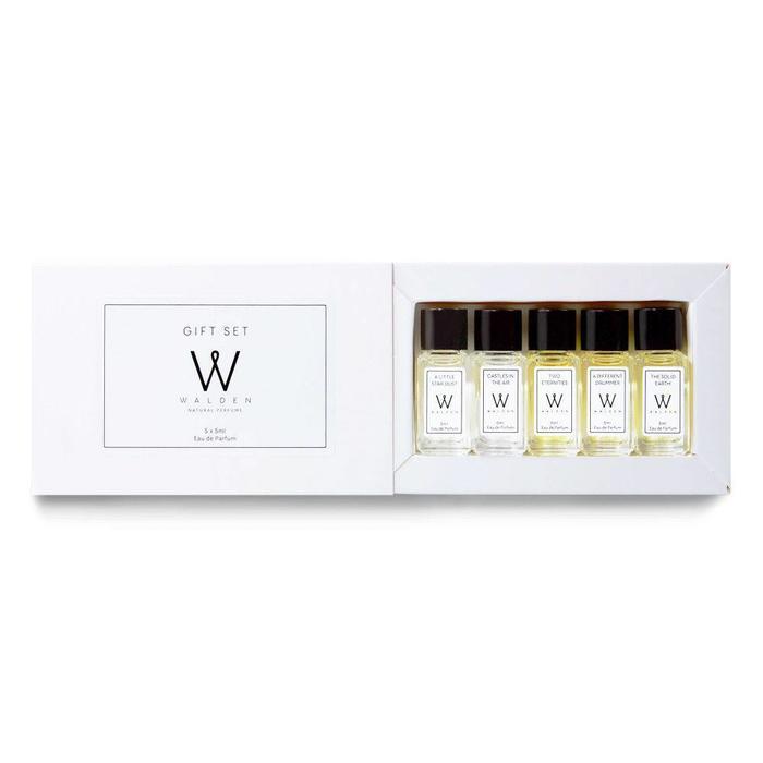 Walden Perfume Gift Set 5x5ml