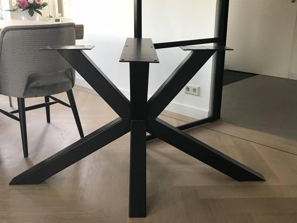 Tafelonderstel Matrix Leg 80x80 Zwart